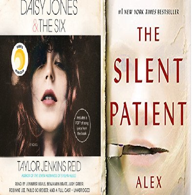 The silent patient  /  Daisy Jones and the Six