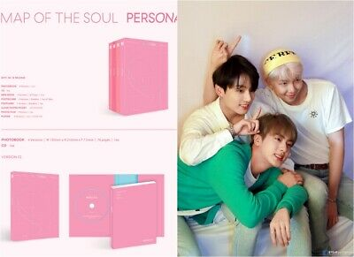 BTS: Map of the Soul Persona* 4 set Poster Full Package (CD,Big Hit) K-POP