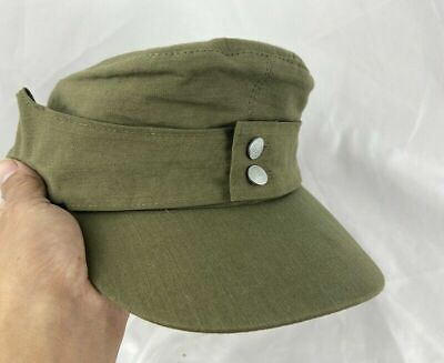 c2ae3523e5af1 Size M Ww2 Wwii German Army Afrika Korps Summer Panzer M43 Field Cotton Hat  Cap
