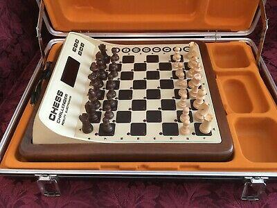 8rw8 vintage Sensory Voice Chess Challenger, Play against a computer, 10-level