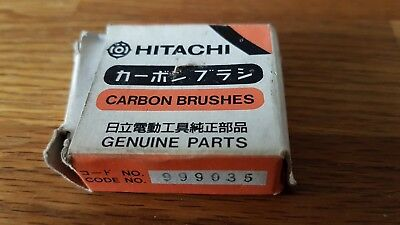 Genuine Hitachi Carbon Brushes To Fit Hitachi Rotary Hammer 999035