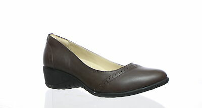 da299964d64 HUSH PUPPIES WOMEN'S Odell Mary Jane Flat, Dark Brown Leather, 06.0 ...