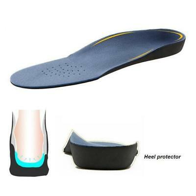 Orthotic Shoe Insoles Flat Feet Foot High Arch Heel Support Inserts Pad Relief