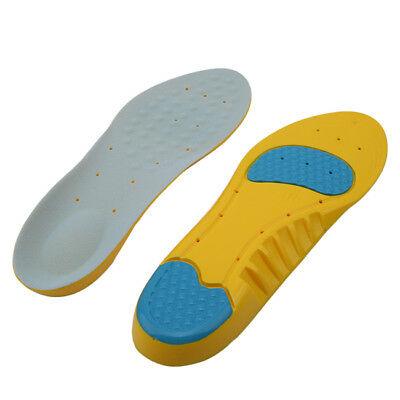 Unisex Orthotic Sport Running Insole Insert Shoe Pad Arch Support Cushion LD