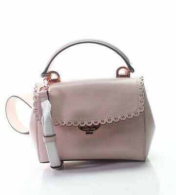 1af627a43dd250 Michael Kors NEW Soft Pink Rose Gold Extra Small Crossbody Leather Bag  $228-#041