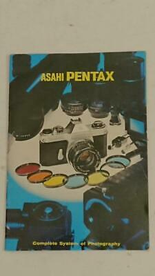 Asahi Pentax Complete System of Photography Booklet - Spotmatic II on cover