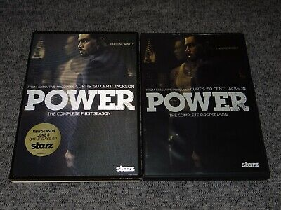 POWER The Complete First Season 1 One (2015, 2-Disc DVD Set) STARZ TV 50 Cent