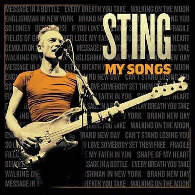 Sting - My Songs - New CD Album - Pre Order - 24th May
