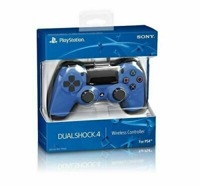 Official DualShock PS4 Wireless Controller for PlayStation 4 - Blue NEW Original