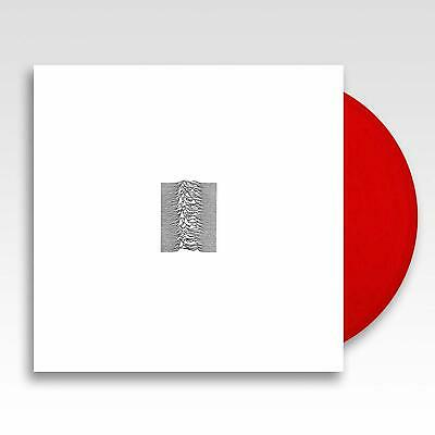 Joy Division: Unknown Pleasures (40th Anniversary) 180g Red Coloured Vinyl LP