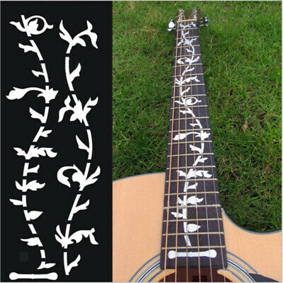 Tree Of Life Fretboard Inlay Sticker Fret Silver Decal for Guitar Bass Gifts