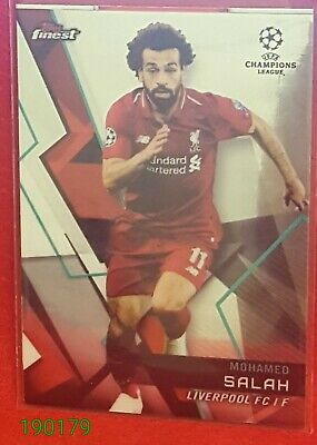 2018-19 Topps Finest UEFA Champions League Base #83 Mohamed Salah