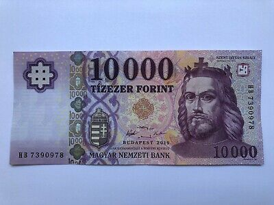 Hungarian Banknote 10000 HUF Forint Hungary 2019 GEM UNC CU Uncirculated