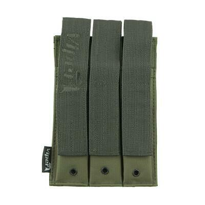 Mp5 Magazine Pouch Triple Mag Pouch Green Viper Molle Airsoft Military VMMP506