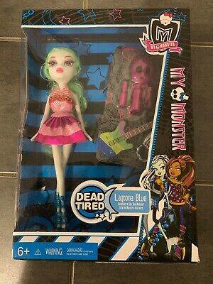 Monster High Dead Tired Lagoona Blue NIB (t2)