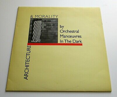 Orchestral Manoeuvres In The Dark - Architecture & Morality UK 1981 DinDisc LP