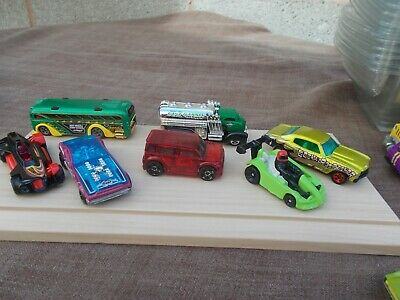 Job Lot Of 7 Assorted Old & New Hot Wheels 7-Used/Mint/Unboxed
