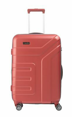 travelite Vector 4W Trolley Expandable M Trolley Tasche Koralle Rot Neu