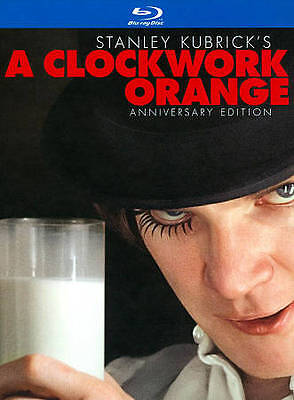 A Clockwork Orange [Two-Disc Anniversary Edition Blu-ray Book Packaging] - DVD