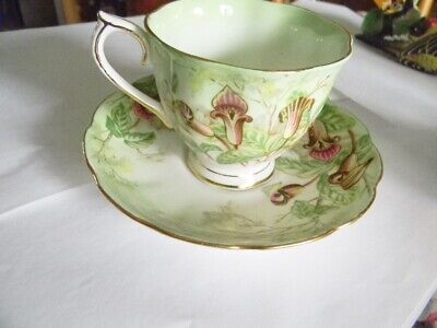 RARE Royal Albert Jack in the Pulpit Cup Saucer Countess shape EC Footed 1935-45