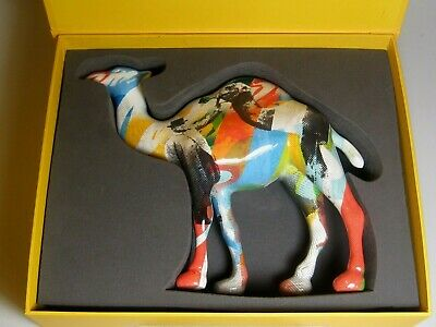 CAMEL 100 Anniversary YEARS Re-Mixed Figurine Boxed advertising Special Edition