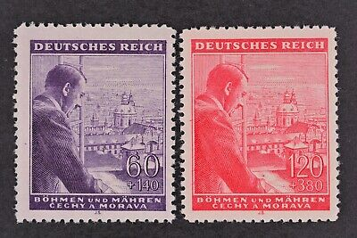 1943 MNH** German Occupation Stamps - Bohemia and Moravia. A.Hitler