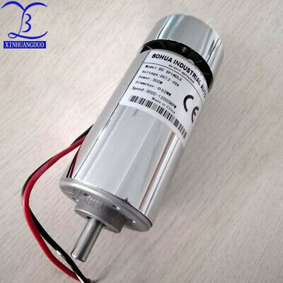 Details about  300W DC Spindle motor, high torque. 48V 12000rpm, air-cooled mot
