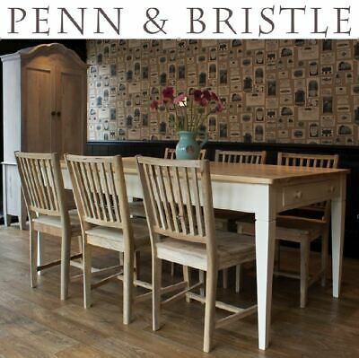 SOLID WOOD EMPIRE KITCHEN TABLE - AVAILABLE PAINTED OR RAW (Chairs not included)