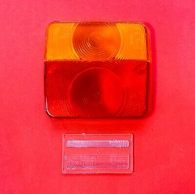 RADEX Replacement Lens 3.001.00 for Square Combination Lamp with No.Plate Lens