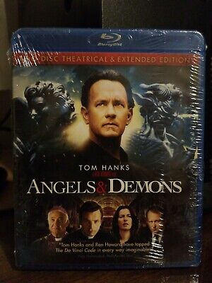 Angels Demons Blu Ray Two Disc Theatrical And Extended Edition