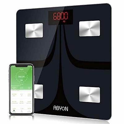 Bluetooth Smart Scales Digital Weight and Body Fat Monitors -Smart Fitness Scale