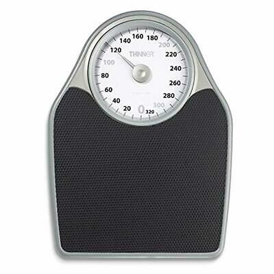 Thinner Extra-Large Dial Analog Precision Bathroom Scale, Analog Bath Scale - Me