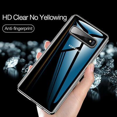 For Samsung Note9 S10 Plus Case Shockproof Silicone Protective Soft Clear Cover
