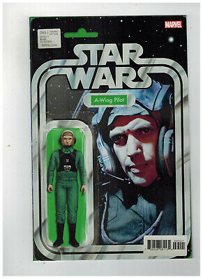 STAR WARS #65 1st Printing - Action Figure Variant Cover    / 2019 Marvel Comics