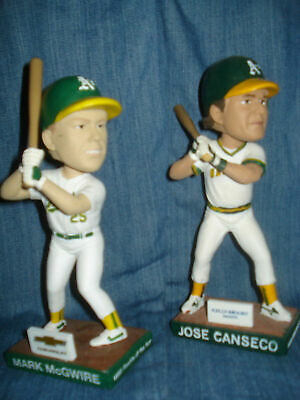 ⚾NEW⚾Oakland Athletics Bash Bothers Mark McGwire & Jose Canseco Bobblehead SGA⚾