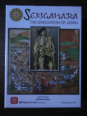 Sekigahara Fourth Printing by GMT Games 2018 mint in shrink