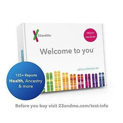 23andMe DNA Test - Health + Ancestry Personal Genetic Service - Includes Reports