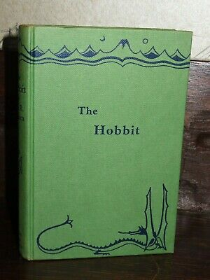 1965 THE HOBBIT by JRR TOLKIEN - 2nd EDITION 15th IMPRESSION- LOTR LORD OF RINGS