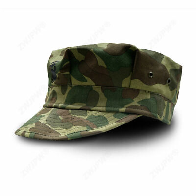 Size 60 Wwii Us Army Elite Pacific Camo Hbt Octagonal Cap Military Hat