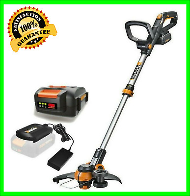 "NEW WORX WG180 40V Powershare 12"" Cordless String Trimmer / Edger +Battery"