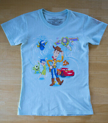 DISNEY STORE TOY STORY CARS ETC SHIRT TOP TEE 30th ANNIVERSARY SIZE SMALL