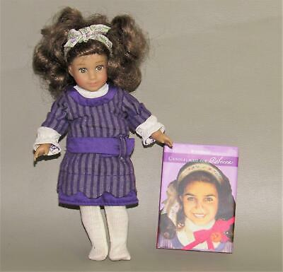 "AMERICAN GIRL MINI REBECCA 25th ANNIVERSARY 6"" DOLL WITH BOOK -  GUC"