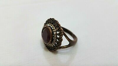 Kind-Hearted Extremely Rare Medieval Massive Bronze Ring Viking Superb Museum Quality Ancient Viking Antiquities