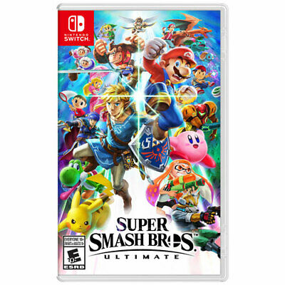 Super Smash Bros Ulti (Nintendo Switch) Game in case. Adult Owned. FREE SHIPPING