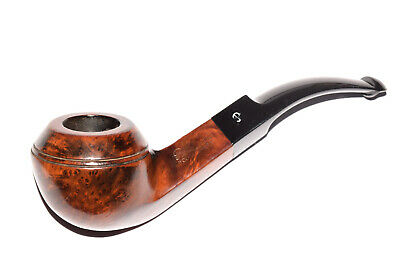 "PETERSON'S ""CONNEMARA"" 80S BENT BULLDOG BRIAR PIPE ** SMALL DEFECT * pfeife pipa"