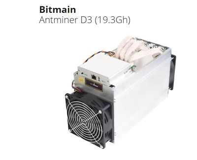 Bitmain Antminer D3 19GH/s X11 POWER SUPPLY NOT INCLUDED - USA SELLER- TRUSTED-