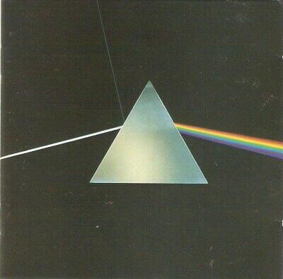 Pink Floyd - Dark Side Of The Moon (CD 1994) Remastered; Gilmour; Waters