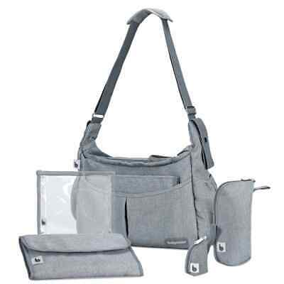 Babymoov Diaper Bag Urban Smokey Grey Baby Care Nursery Nappy Changing Package