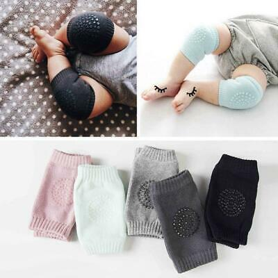 Kids Soft Antislip Elbow Cushion Crawling Knee Pad Infant Toddler Baby Safety AO