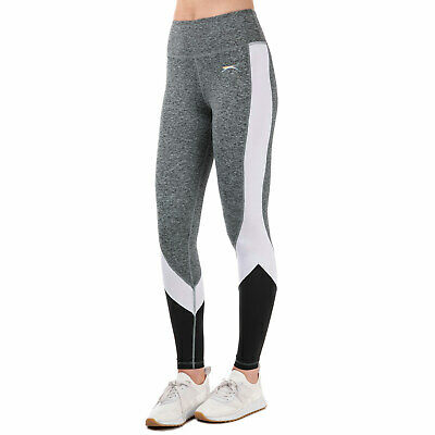 a59b5c2bd6 WOMENS SLAZENGER WOMENS Kerin Leggings in Charcoal Marl - 8 - £13.94 ...